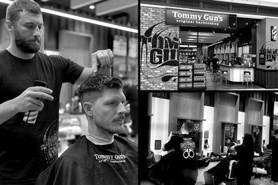 Barbers of the Month: Tommy Guns Garden City