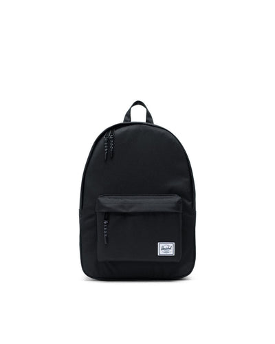 Herschel-backpacks-classic black-front view
