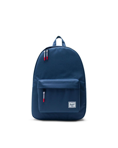 Herschel-backpacks-classic navy-front view