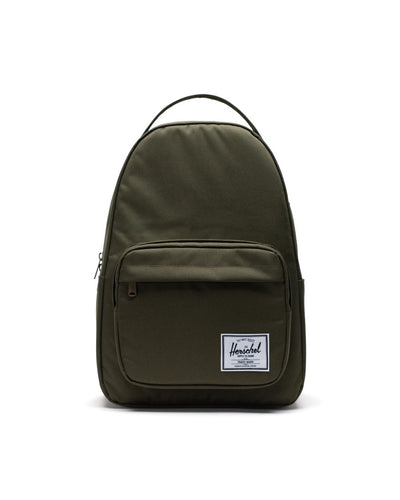 Herschel-backpacks-miller green_front view