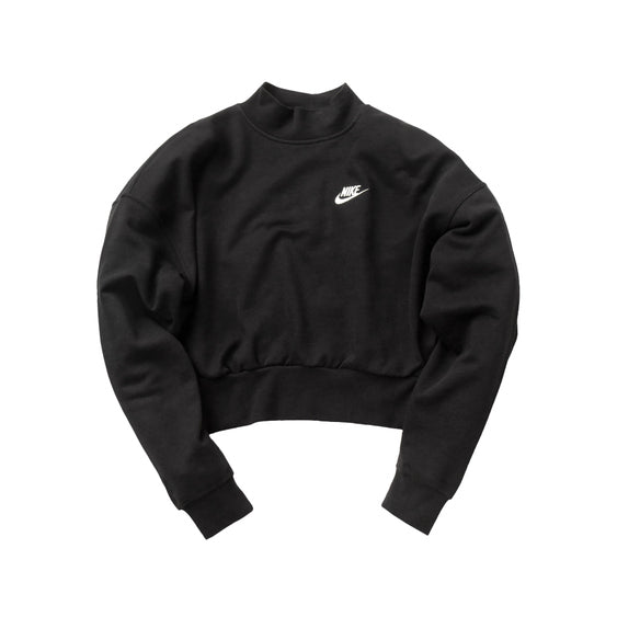 ESSENTIAL FLEECE MOCK NECK