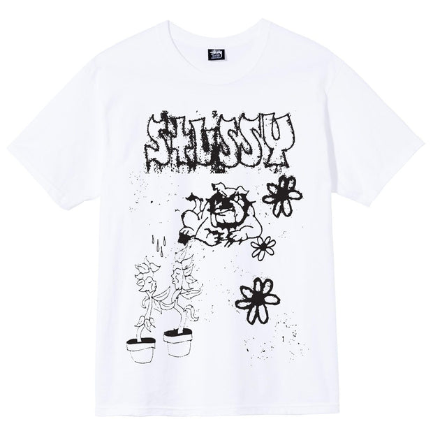 stussy - bad dream tee - front view