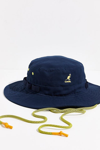 kangol - utility jungle bucket navy
