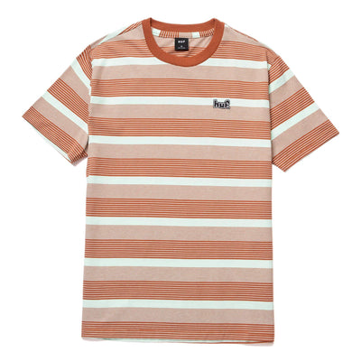 huf - berkley stripe knit tee - front view