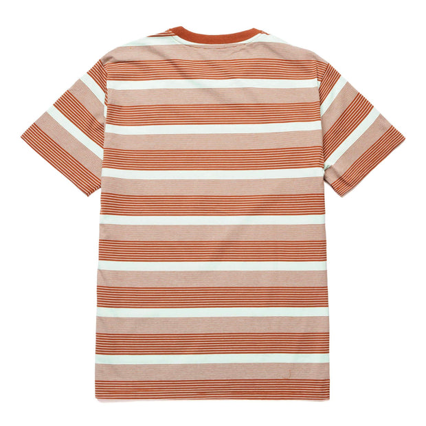 huf - berkley stripe knit tee - back view
