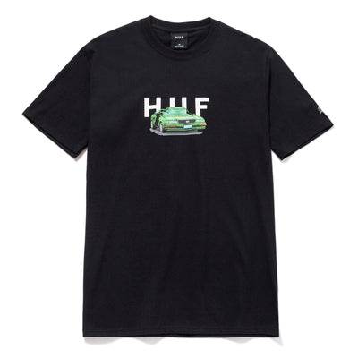 huf x streetfighter - bonus stage tee black- front view