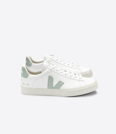 VEJA sneakers_CAMPO CHROMEFREE matcha_side view