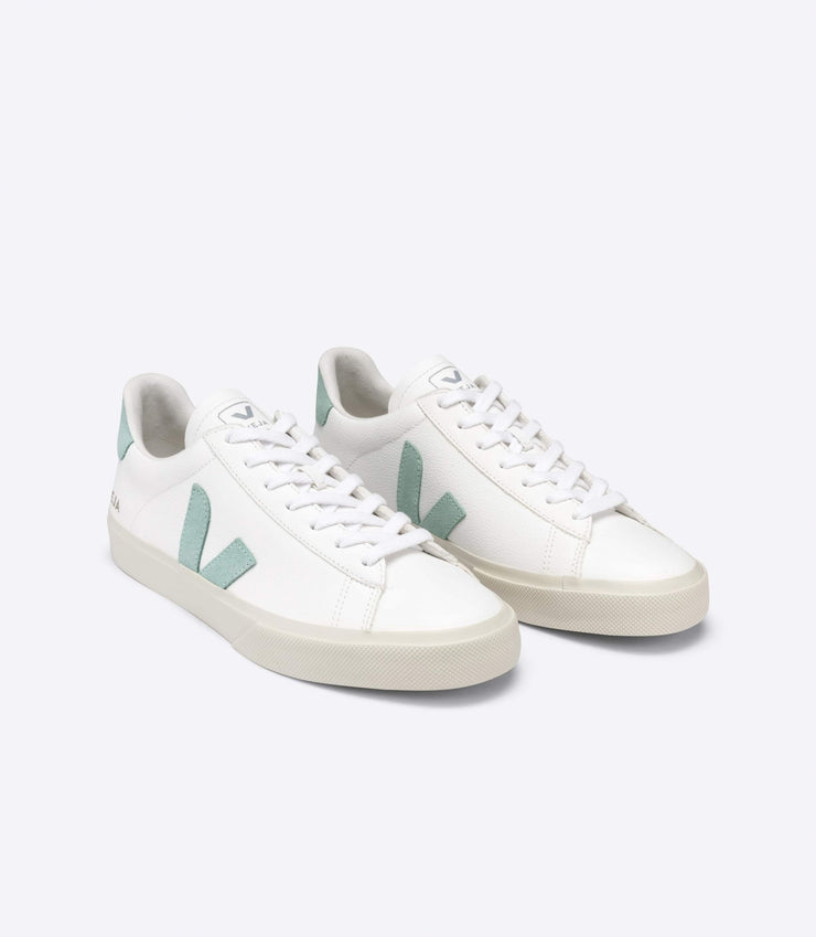 VEJA sneakers_CAMPO CHROMEFREE matcha_front view