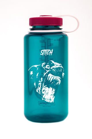 STITCH NALGENE DOG GREEN