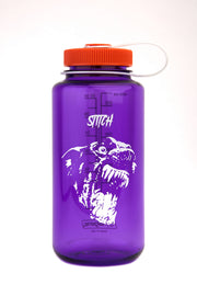 Stitch x nalgene bottle_dog purple_front view