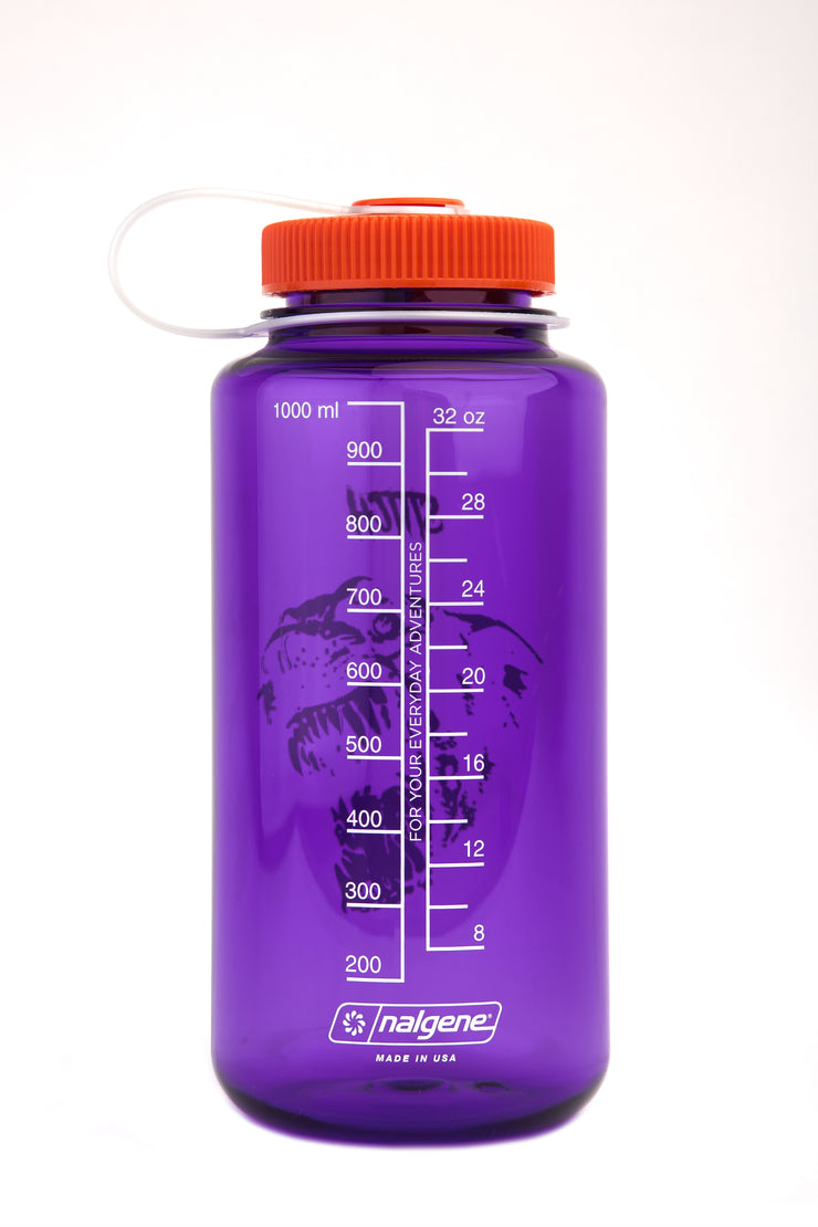 Stitch x nalgene bottle_dog purple_back view