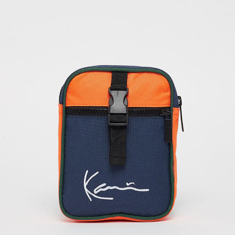 SIGNATURE BLOCK MESSENGER BAG