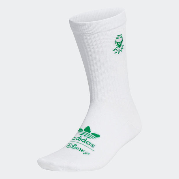 adidas - kermit withe socks - front view