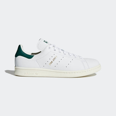 adidas- stan smith soft leather green- side view