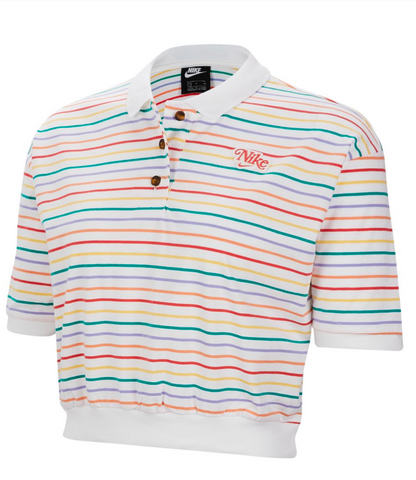 RETRO POLO WHITE