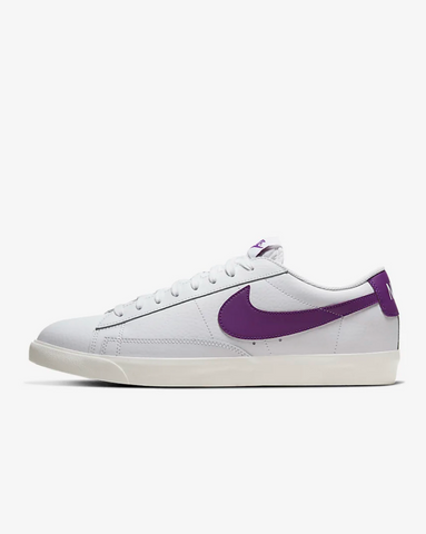 BLAZER LOW LEATHER PURPLE
