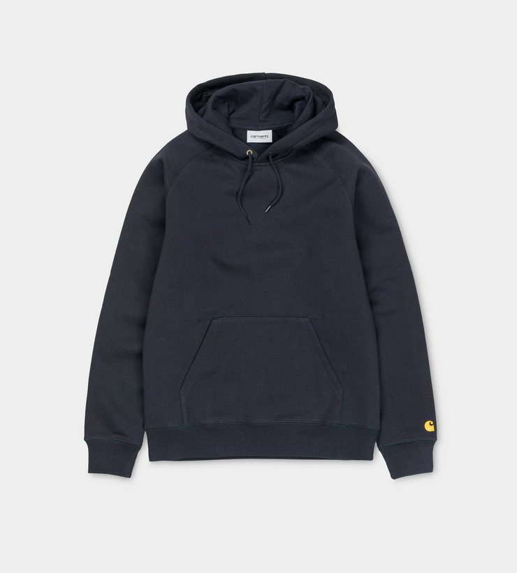 HOODED CHASE SWEAT DARK NAVY