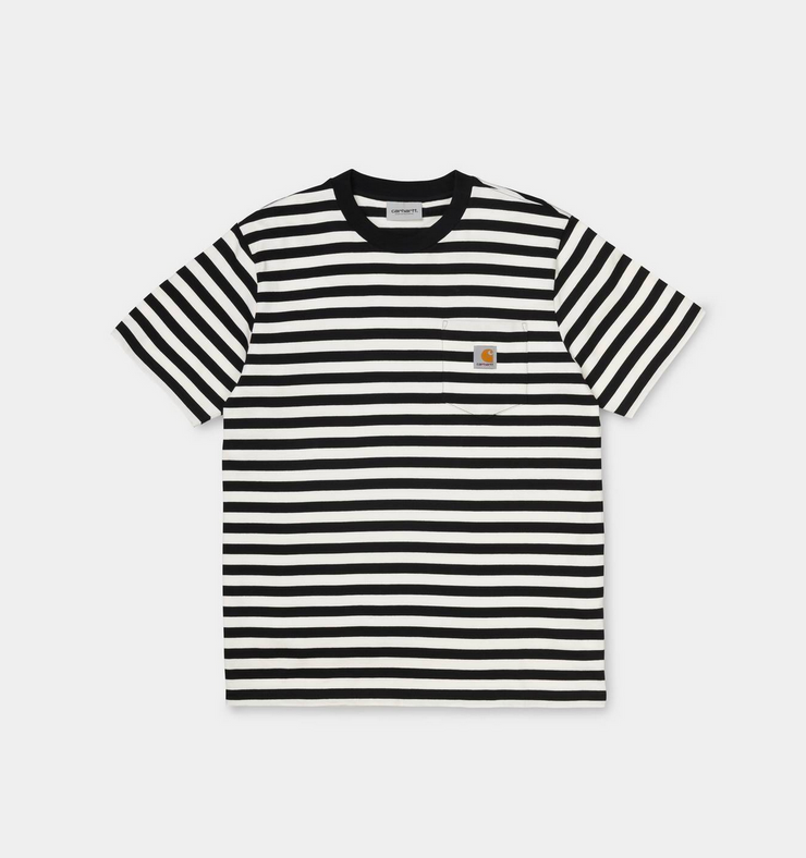 PARKER POCKET TEE BLACK