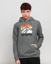 Load image into Gallery viewer, LINE LOGO RIDGE UPRISAL HOODIE