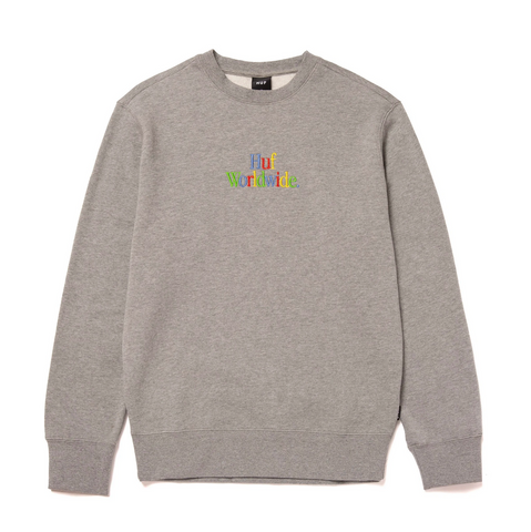 WOZ CREWNECK GREY