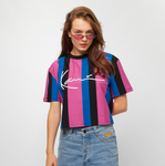 SIGNATURE STRIPE TEE WOMAN