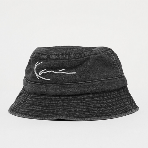 SIGNATURE WASHED BUCKET HAT
