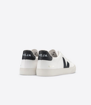 VEJA sneakers_CAMPO CHROMEFREE white/black men_back view