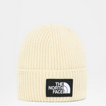 Load image into Gallery viewer, LOGO BOX CUFFED BEANIE BLEACHED SAND
