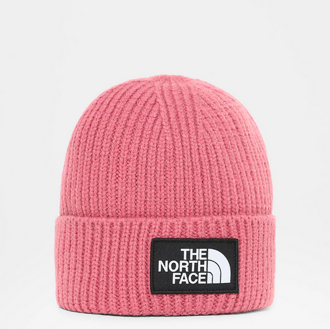 LOGO BOX CUFFED BEANIE MESA ROSE