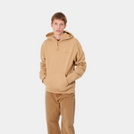 HOODED ASHLAND SWEAT DUSTY BROWN