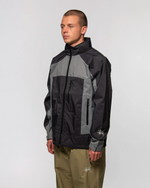 Load image into Gallery viewer, TAPED SEAM RAIN SHELL BLACK