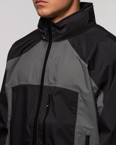 TAPED SEAM RAIN SHELL BLACK