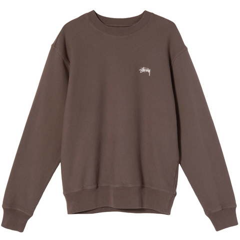 STOCK LOGO CREW BROWN