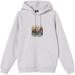 Load image into Gallery viewer, IRISES APPLIQUE HOODIE GREY