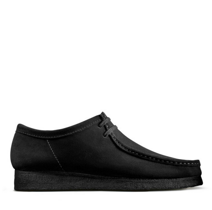 WALLABEE BLACK SUEDE