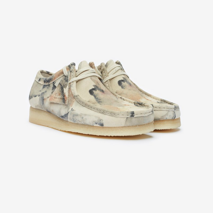 WALLABEE OFF WHITE CAMO