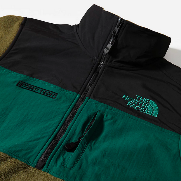STEEP TECH HALF ZIP FLEECE GREEN