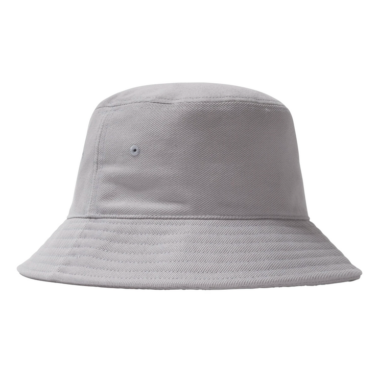 stussy_big logo bucket hat ice blue_back view