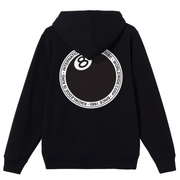 stussy_8ball dot hood black_back view