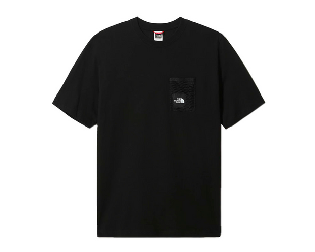 the north face -black box tee black- front view