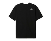 the north face -black box tee black- back view