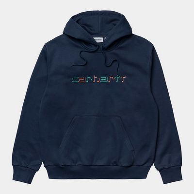 carhartt wip_hooded shadow script_front view