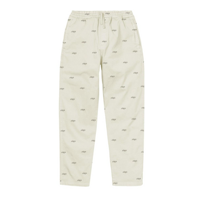 hwa - cosy pant off white -front view