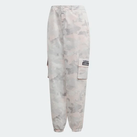 TRACK CAMO PANT ROSE
