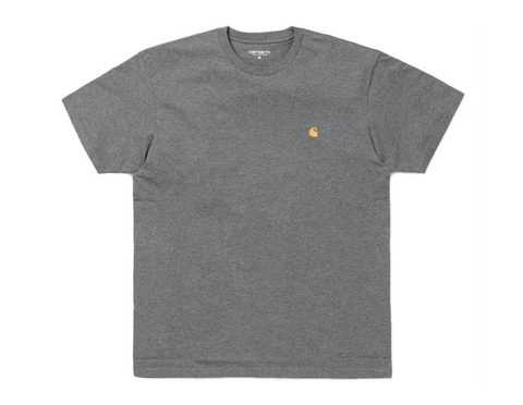 CHASE TEE DARK HEATHER