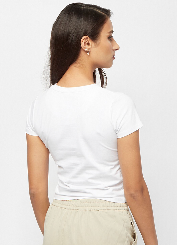 karl kani - kk small signature short tee white- back view