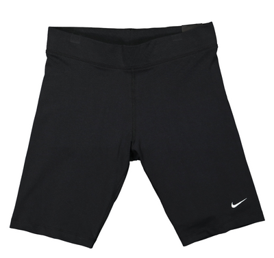 nike - essential biker short black for woman