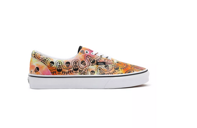 vans-  era bandana mexican style print - side exterior view