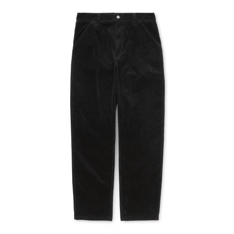 SIMPLE PANT CORDUROY BLACK