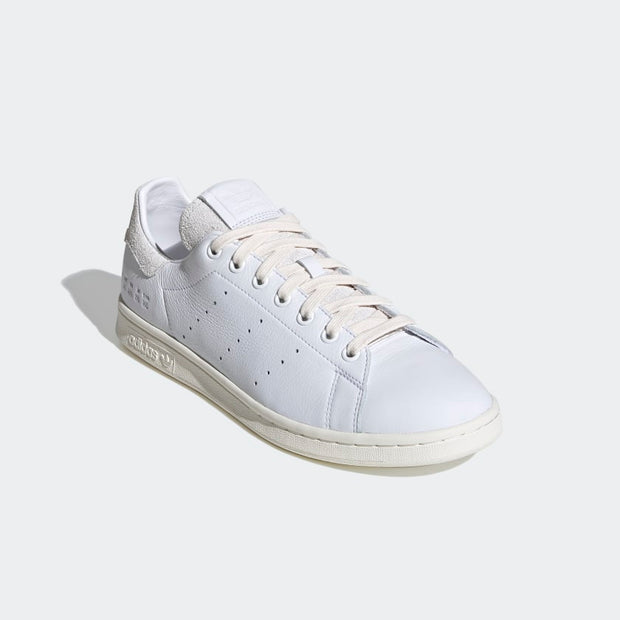 adidas- stan smith PRM cloud white- front side view
